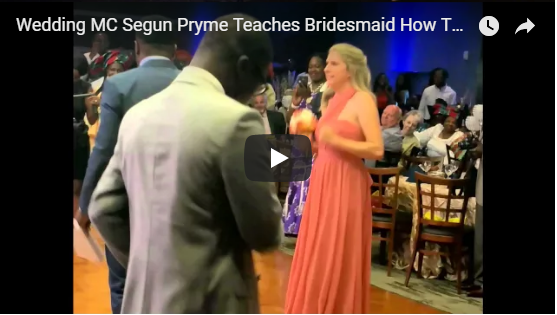Wedding MC Segun Pryme Teaches
